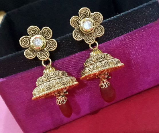 Chakri Layered Necklace Set with Earring and Maang Tikka
