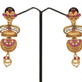 Traditional Matte Earring