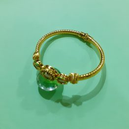 Oval Kada Bracelet for Girls