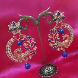 Antique Peacock Earring