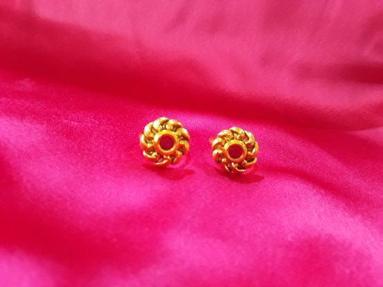 Twisted Toe Ring (Gold and Rani)