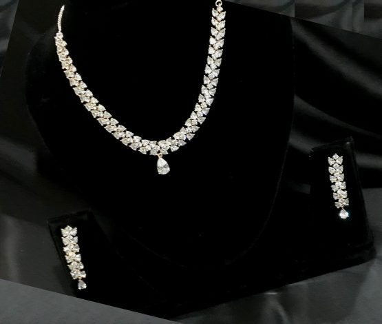 Bollywood Style AD Necklace