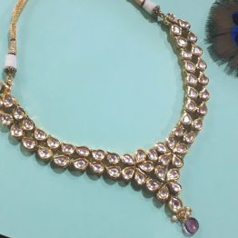 Classic Beetel Necklace Set (Gold)