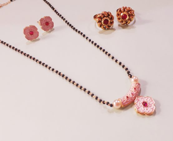 Antique Mangalsutra and Toe Ring Combo