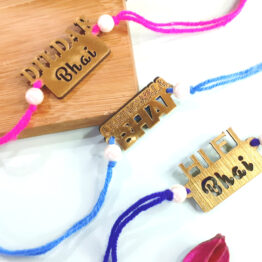 Rakhi for Brother Combo Set (Pack of 3)